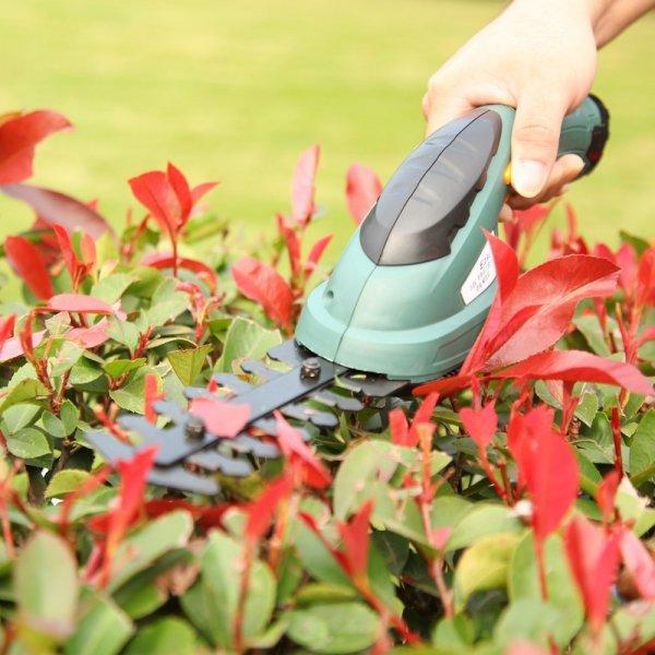 Ручной триммер для травы и кустов ET1205C-DG (2 в 1)