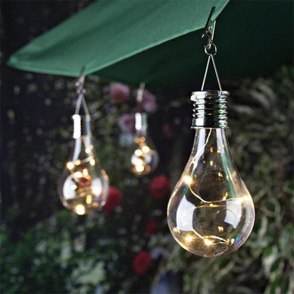 Лампочка на солнечной батарее от MUQGEW
