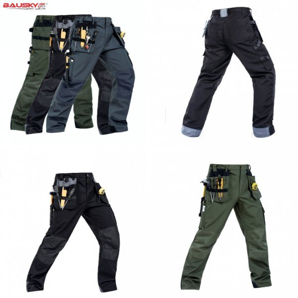Защитные брюки для различных видов работ (3 цвета, 11 размеров)