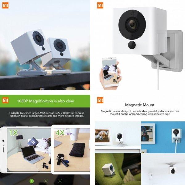 Беспроводная видеокамера Xiaomi CCTV Mijia Xiaofang (110 градусов)