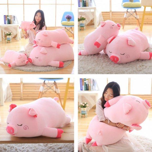Подушка-свинюшка от YESFEIER (4 размера)
