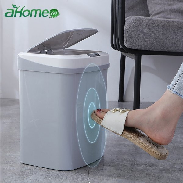 Автоматическая  корзина для мусора (15 л, 4 цвета)