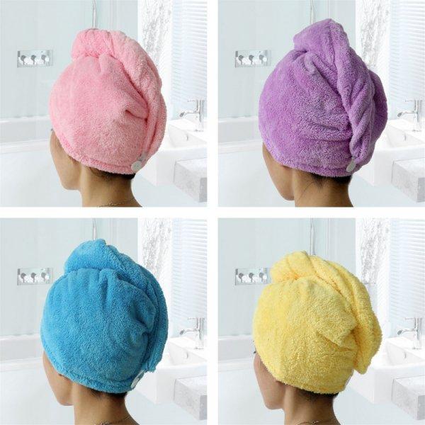 Полтенце-шапочка на голову GIANTEX (5 цветов)