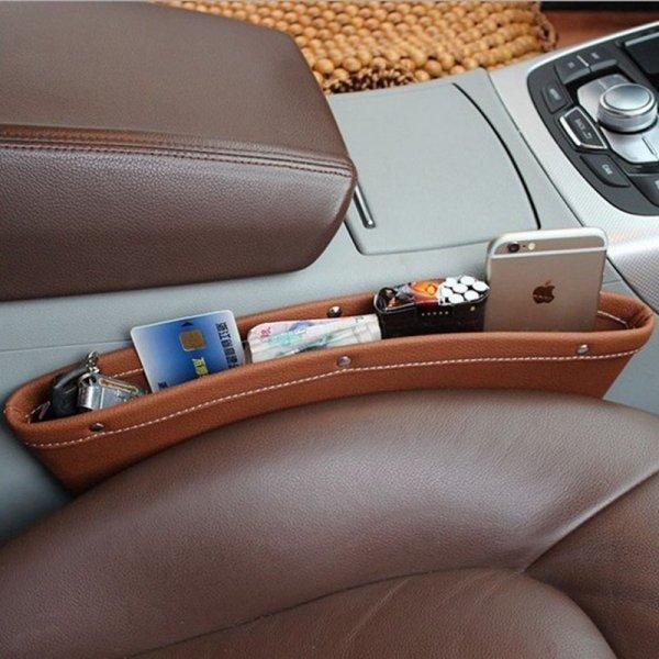 Используй карман Urijk для порядка в  машине (3 цвета, 37.2*12.8*7.9 см)