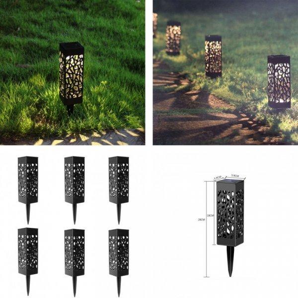 Шикарный садовый светильник Hi-Lumix (1, 3, 6 шт)