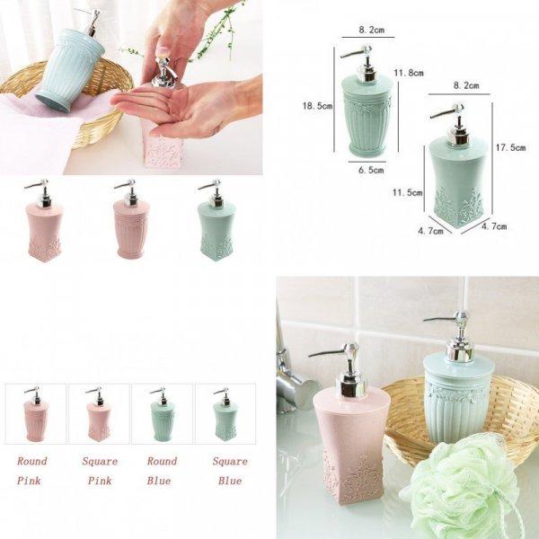 Дозатор для мыла механический (2 цвета)