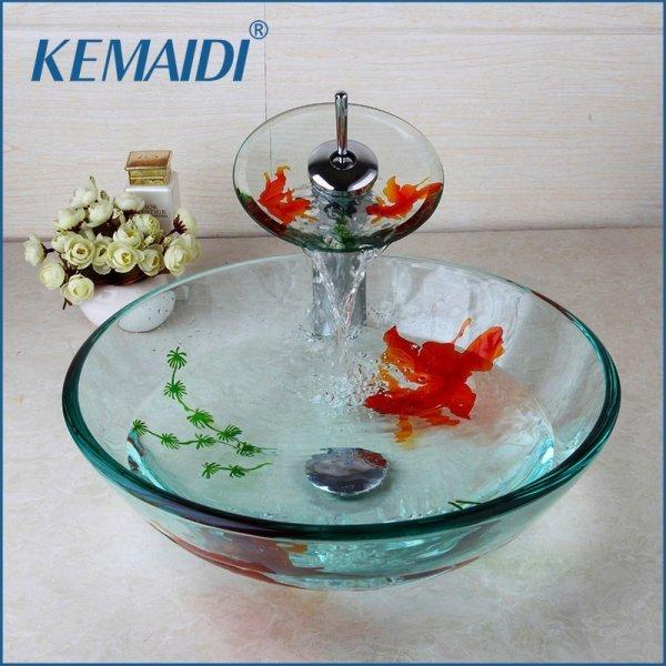 Комплект с Золотыми рыбками от KEMAIDI