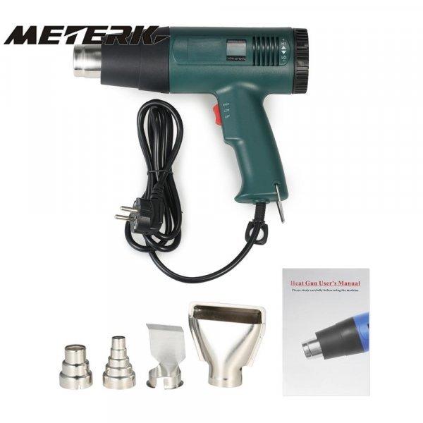 Паяльный пистолет для работ с термоусадкой Meterk (1800 Вт)