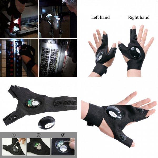 Водонепроницаемые перчатки с подсветкой
