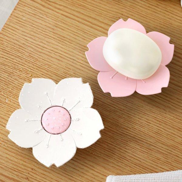 Миниатюрная мыльница Цветок (2 цвета)