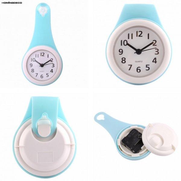 Настенные водостойкие часы для ванной от HOMEINGDECO (4 цвета)