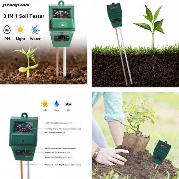 Цифровой измеритель для почвы