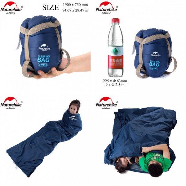 Сверхлегкий спальный мешок от NATUREHIKЕ