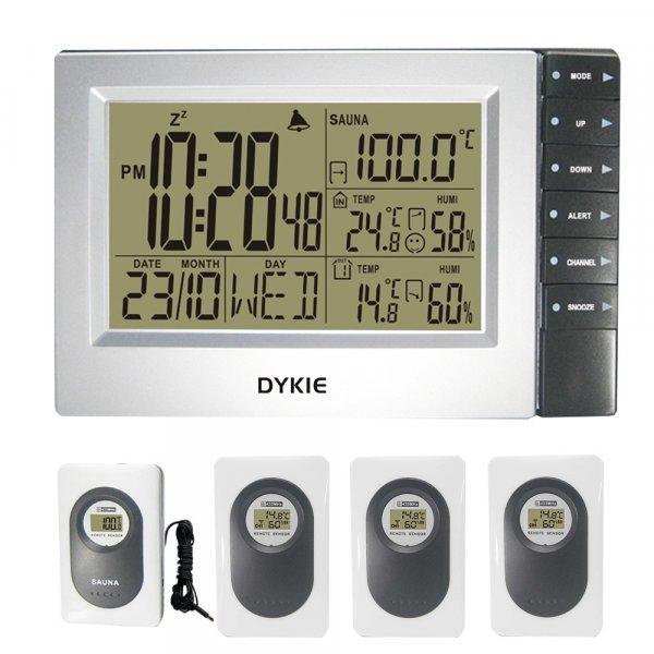 Цифровая метеостанция с беспроводными датчиками DYKIE