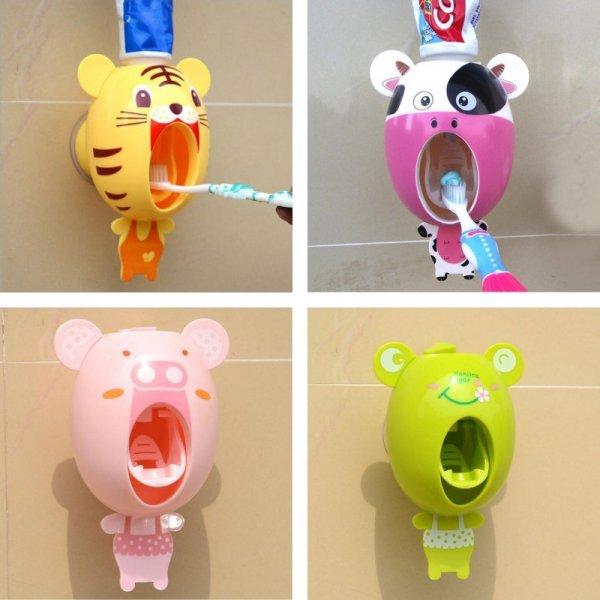 Дозатор для зубной пасты MISS ROSE (5 видов)