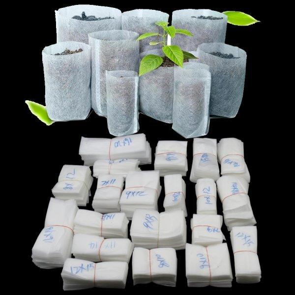 Биоразлагаемые нетканые мешки от MUCIAKIE (20 размеров, 100 шт)