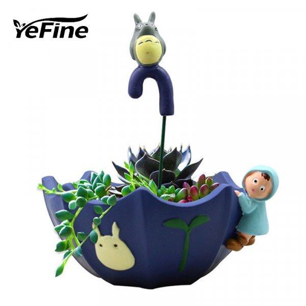 Невероятный горшок для суккулентов YeFine (1 шт, 9 цветов)