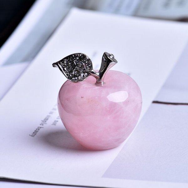 Интерьерное украшение из натурального розового кварца