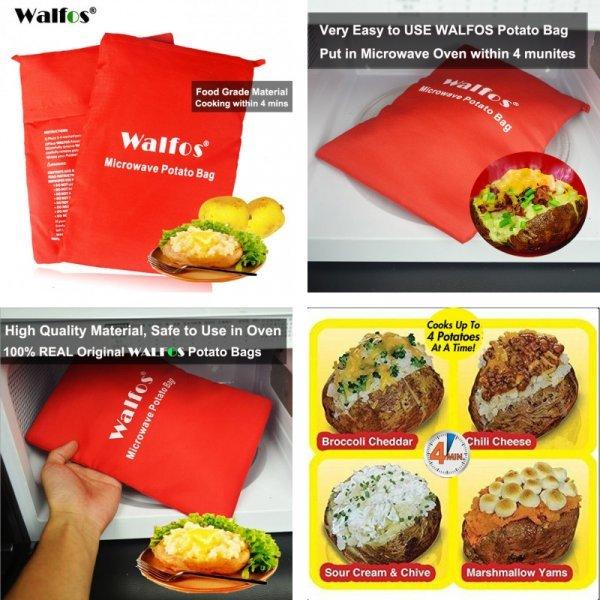 Мешок для запекания картофеля от WALFOS