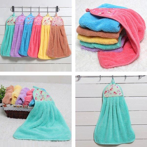Супервпитывающие полотенца (6 цветов)