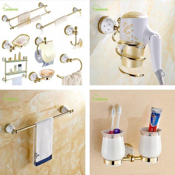 Настенные аксессуары для ванной от AUSWIND (в ассортименте)