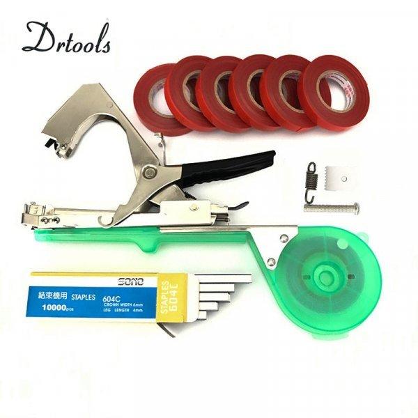 Инструмент для подвязки плодово-ягодных культур DRTOOLS (лента в наборе)