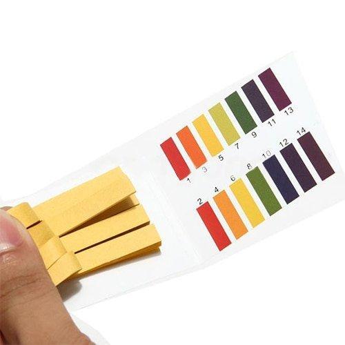 Лакмусовые полоски для проверки рН от INPELANYU (80 шт)