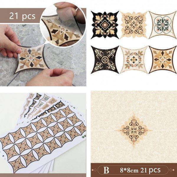 Наклейки для керамической плитки (8 видов)