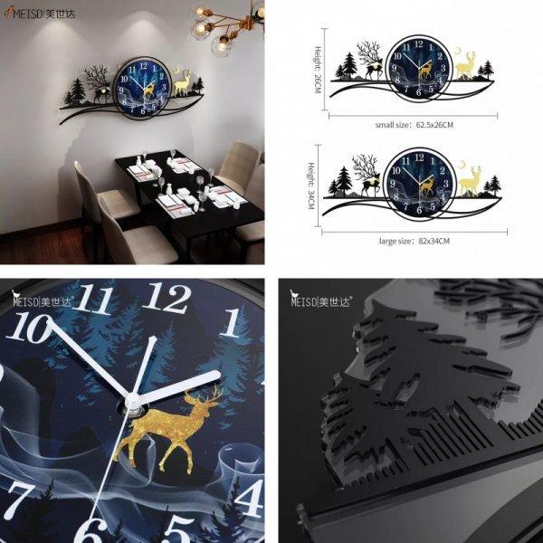 Акриловые часы