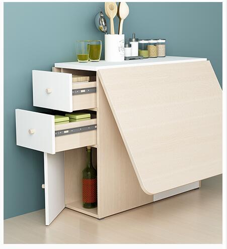 Компактный стол-книжка с отсеками для хранения мелочей