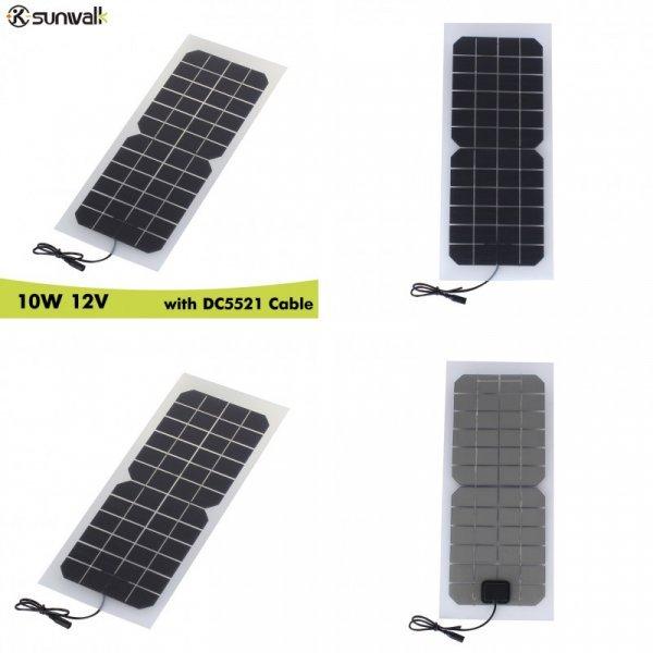 Панель солнечная профессиональная SUNWALK (10 Вт, 12 В)
